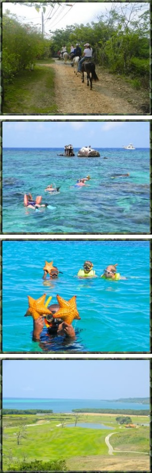 Horseback Riding and Snorkeling Tour
